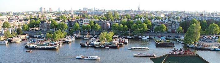 Oosterdok Amsterdam Cityscape