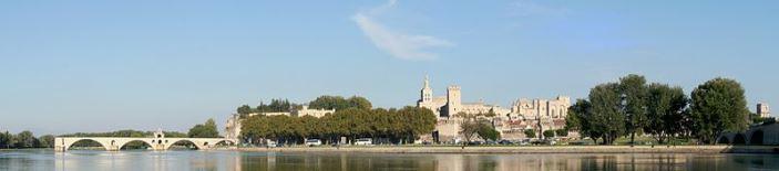 Avignon France Panorama