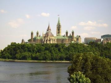 Parliament Hill in Canada's Ottawa