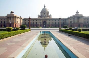 The Secretariat Building in New Delhi