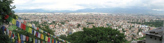 Kathmandu Valley view from Swayambhu