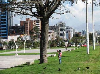 La Carolina park, Quito