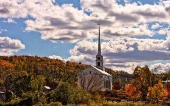 Stowe, Vermont scene