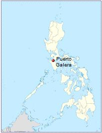 Puerto Galera Philippines map