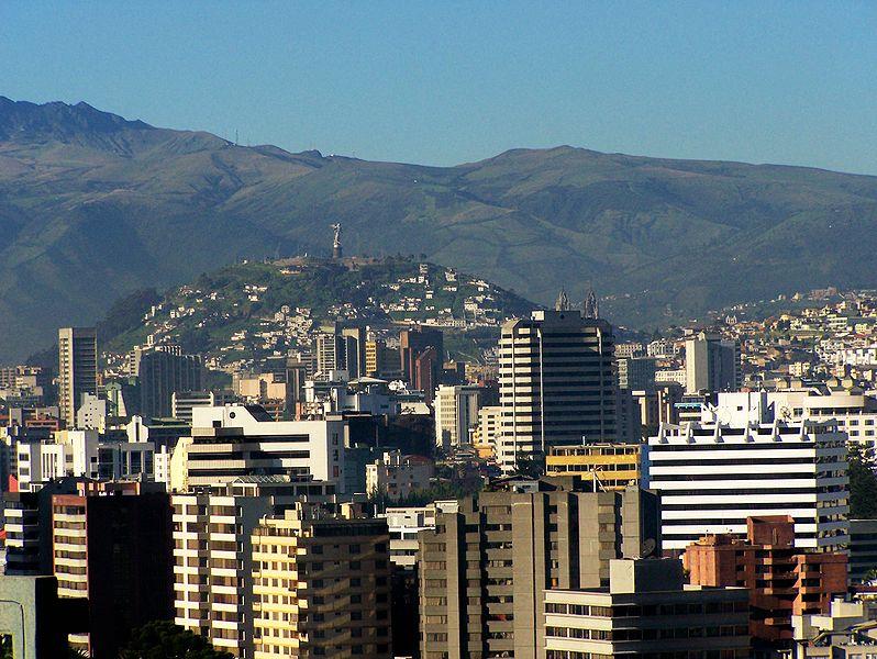 Downtown Quito  Ecuador
