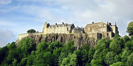 Stirling Castle, in Stirling, Scotland
