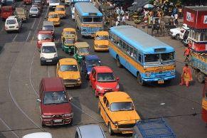 road in Kolkata