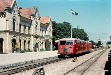 Visby railway station