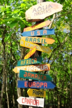 travel destinations  signs and snippets