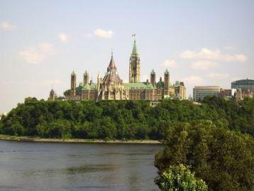 Parliament Hill in Canada's Ottawa