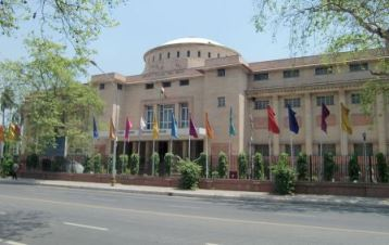 The National Museum in New Delhi