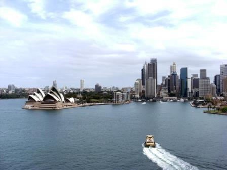 Sydney Harbour in Sydney Australia